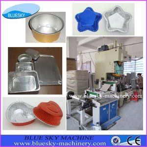 Hot Sale Alu Foil Food Container Making Machine with Life-Long Maintenance (BSMC-45T)