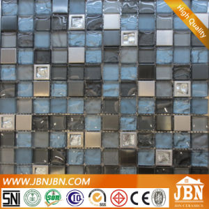 Showcase Wall Stainless Steel and Convex Glass Mosaic (M823060) pictures & photos