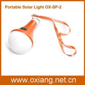 Indoor Outdoor Remote Control 3W Solar Lighting Flashlight Bulb pictures & photos