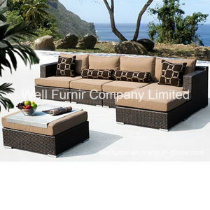 6-Piece Rattan Sectional Sofa Set / Wicker Furniture/Rattan Garden Furniture pictures & photos