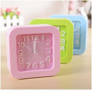 Promotion Square Digital Clock, Candy Desktop Clock for Students pictures & photos
