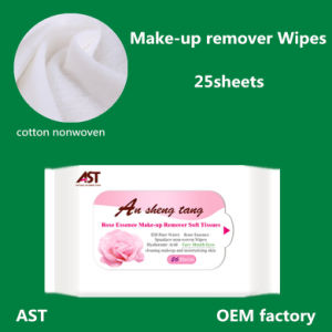 Makeup Remover Wet Wipes for Female 25sheets pictures & photos