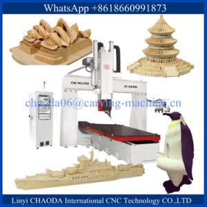 5 Axis CNC Stone Router 5 Axis CNC Marble Machine 5 Axis CNC Machine Marble 5 Axis CNC Machine Stone pictures & photos