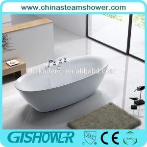 Free Standing Acrylic Soaker Bathtub (BL1005S) pictures & photos