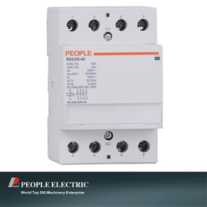 Household Contactor 40A 4no Rdch8-40/40 4p pictures & photos