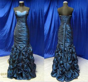 Delicata Taffeta Mermaid Prom Dresses Evening Dress pictures & photos