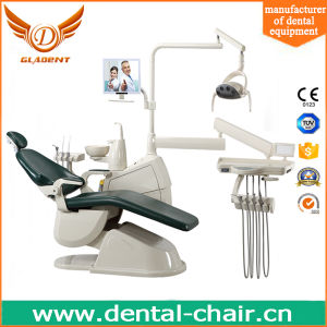 New Design Dental Unit with Big Lamp Dental Chair Brands pictures & photos