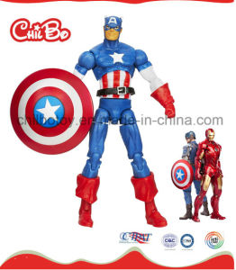 Captain America Plastic Doll (CB-PD005-S) pictures & photos