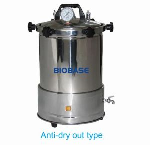 Portable Steam Sterilizer Timing/Anti-Dry out/Dual Fuel Control pictures & photos
