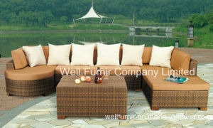 Rattan Garden Furniture Sofa Set Outdoor Patio Conservatory Wicker Weave New pictures & photos
