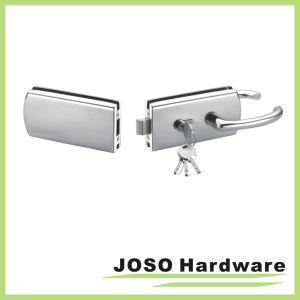 Sliding Glass Door Single Bolt Glass Door Bathroom Lock (GDL012B) pictures & photos