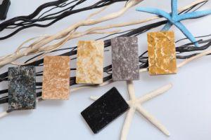 Black Acrylic Nature Texture Artificial Stone for Countertop Bll-E16 pictures & photos
