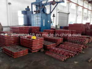 High Quality Jaw Plate for Shanbao Jaw Crusher pictures & photos