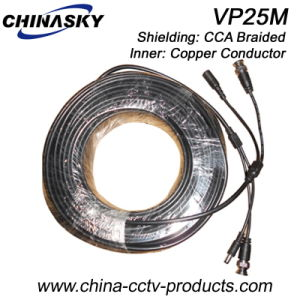 Pre-Made Power and Video CCTV Wire (VP25M) pictures & photos