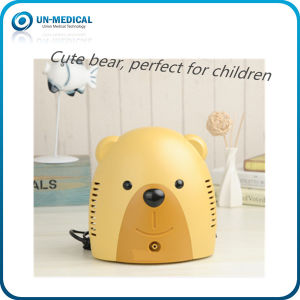 Cute Bear Appearance Compressor Nebulizer for Home&Clinical Use pictures & photos