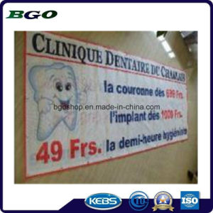 PVC Mesh Fabric Mesh Banner Printing Billboard (1000X1000 9X9 370g) pictures & photos