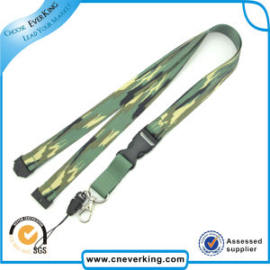 New Products Both Sides Printed Polyester Lanyards pictures & photos