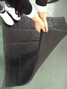 Interlocking Rubber Tiles/En1177 Passed Recycle Tile Rubber /Rubber Wearing-Resistant Tile pictures & photos