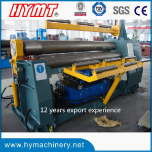 W11H-30X3200 hydraulic 3 Rollers Arc-Adjust Plate Bending Rolling Machine pictures & photos