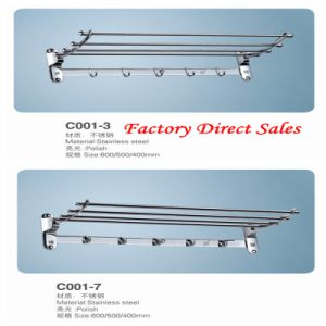 Stainless Steel Sanitary Ware Towel Rack (C001-3) pictures & photos