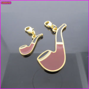 Tobacco Pipe Metal Charm (17238) pictures & photos
