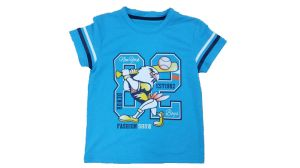 Printed Boy T-Shirt in Kids Clothes (BT039) pictures & photos