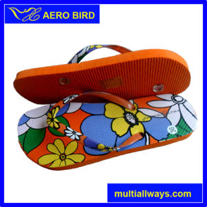 Wholesale PE Fashion Flip Flop Slipper for Girl (15H006) pictures & photos