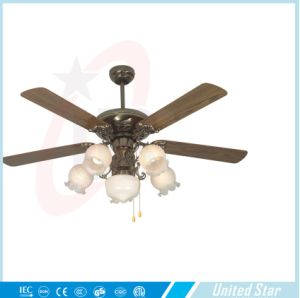 United Star 2015 52′′ Electric Decorative Ceiling Fan Dcf-130 pictures & photos