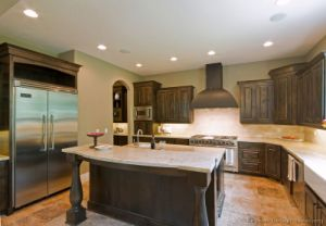 Dark Walnut Kitchen Cabinets (dw54) pictures & photos