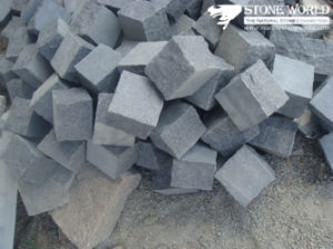 Natural Granite G654 Cobble Stone/Cube Stone for Pavement pictures & photos