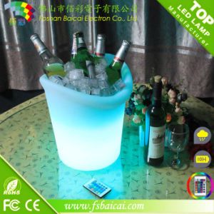 LED Lighted Ice Bucket with Remote Control Bcr-920b