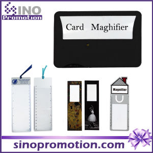 Transparent Card Magnifier Promotional Gift Magnifier pictures & photos
