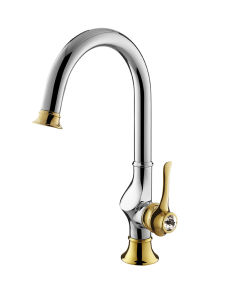 Three Hole Faucet Mixer Pmg6884 pictures & photos
