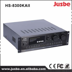 Jusbe HS-8300kaii 320W/8ohm 450W/4ohm 4 Channel Multimedia Professional Aduio Househld HiFi Amplifier pictures & photos