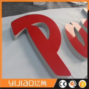 Acrylic Luminous Front Lit Face Letter Sign for Retail Shop pictures & photos