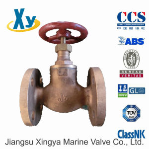 Marine Bronze Globe Valve JIS F7303 F7304 16k pictures & photos