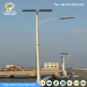 Hot Galvanized Pole 3m-12m LED Light with Solar Panel for Road pictures & photos