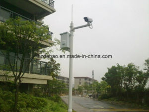 Galvanized Steel Telecom Signal Camera Pole