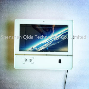 LCD LED Access Security System Touch Screen Monitor with NFC and Fingerprint