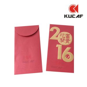 Embossed Printing Custom Logo Paper Red Packet pictures & photos