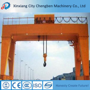 Mg Model Box Type100 Ton Double Girder Gantry Crane Price pictures & photos