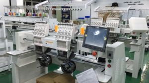 Wonyo 2 Head Industrial Embroidery Machine Tajima pictures & photos