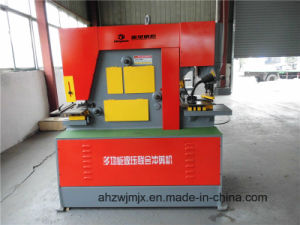 Q35y-40 Hydraulic Combined Punching and Shearing Machine pictures & photos