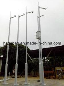 Galvanized Telescopic Street Lighting Camera Pole