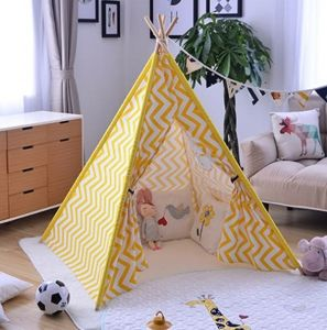 High Grade 100% Cotton Canvas Luxury Indian Tipi Tent pictures & photos