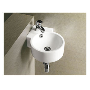 Rak Mini Corner Walll Hung Wash Hand Basin for Bathroom pictures & photos