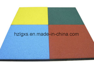 SGS Certified China Manufacturer High Quality EPDM Rubber Floor Tile pictures & photos