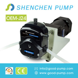 OEM-J24-Yz35 3 Liters Flowrate OEM Peristaltic Dosing Pump for Milk Vending pictures & photos