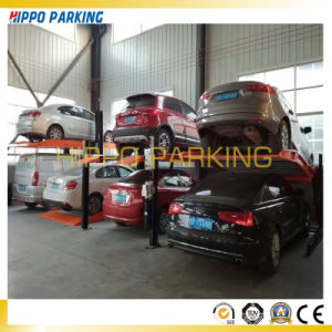 Electric Garage Parking Lift, Two Floor Ramps Simple Parking Lift pictures & photos