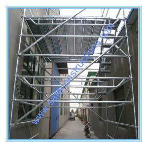 Ce Passed Rosette Ringlock Scaffolding for Construction. pictures & photos